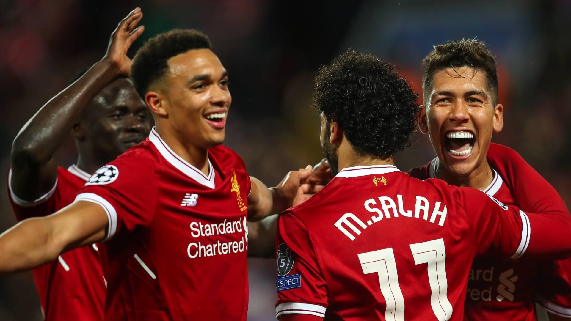 Liverpool AS Roma Salah 2