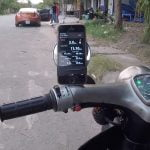 Test max speed Honda Cub cánh én 1979