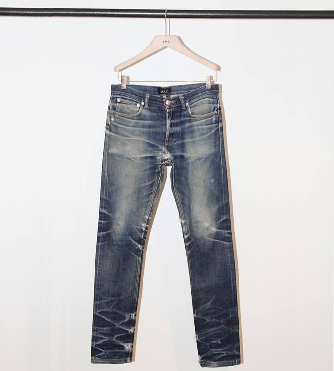 Giặt raw denim