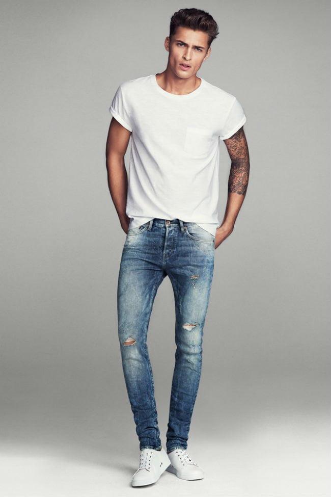 Quần skinny jean cho nam giới