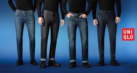 Quần skinny jean của Uniqlo