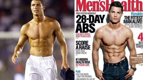 Bí quyết để có thân hình 6 múi như Ronaldo