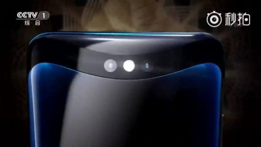 Camera kép của chiếc điện thoại Oppo Find X