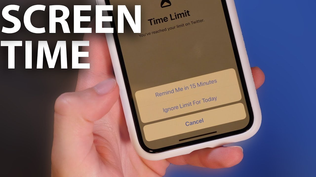 Tính năng Screen Time trên IOS 12