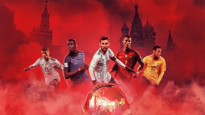 Cuồng nhiệt cùng World Cup 2018