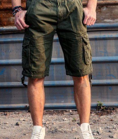 Quần shorts túi hộp đẹp