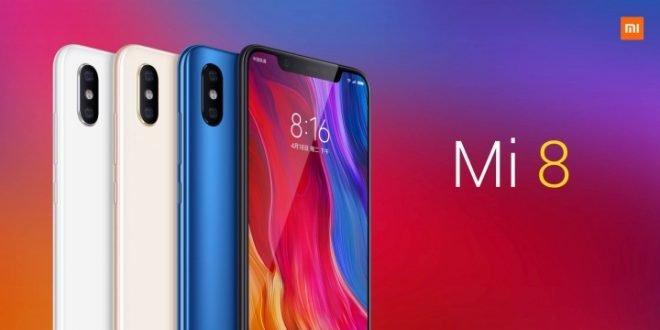 Xiaomi ra mắt iêu phẩm Mi 8 với nhiều tiện ích