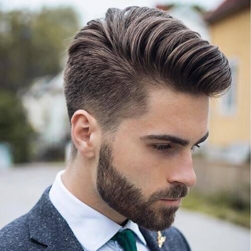 Kiểu tóc nam Pompadour
