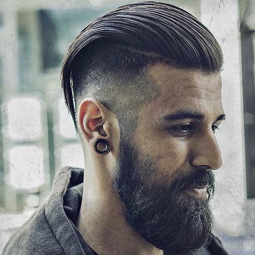 Kiểu tóc slick back undercut