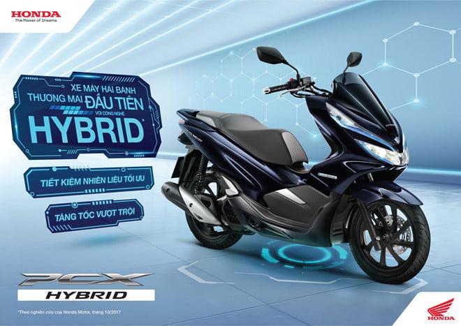 Đánh giá honda pcx hybrid