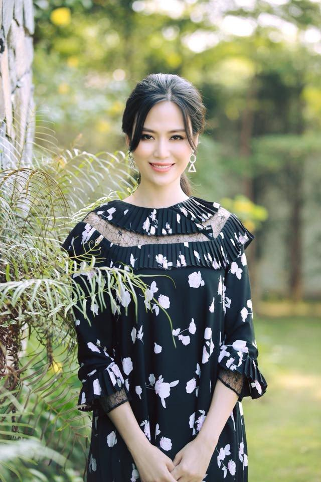 Hoa hậu Thu Thủy bản thân sắc đẹp đã là một dạng tài năng