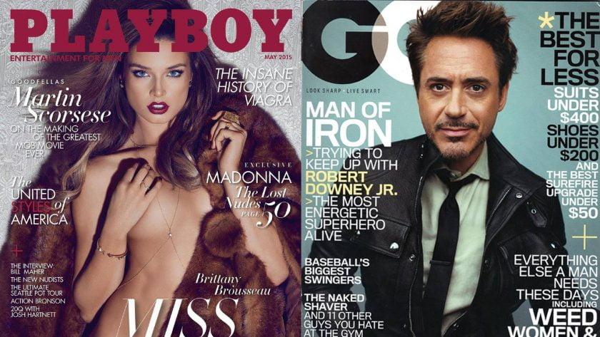 tạp chí đàn ông menback
