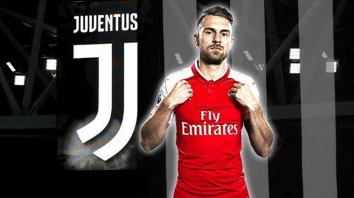 Aaron Ramsey tới Juventus