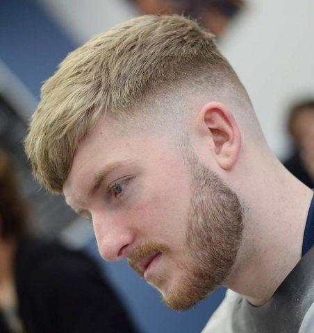 Kiểu tóc nam mùa hèTextured Crop