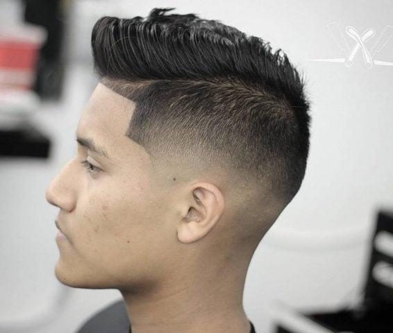 kiểu tóc nam mùa hè đẹp nhất 2019-pomp-skin-fade-lineup
