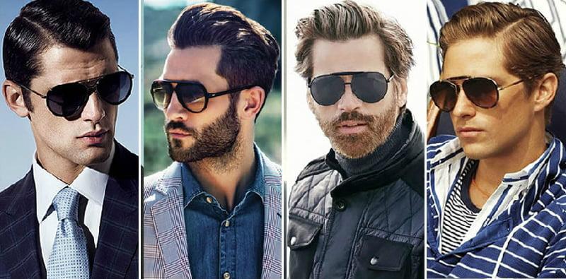 phụ kiện thời trang nam kính mát nam