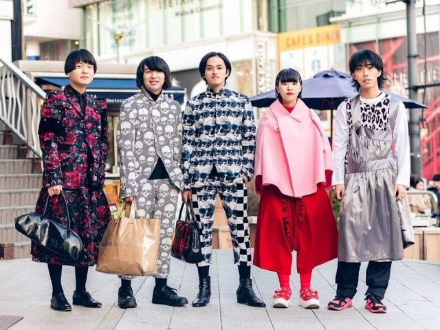 thời trang đường phố tokyo