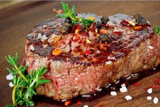 thực phẩm tốt nhất giúp cơ thể khỏe đẹp bò bít tết