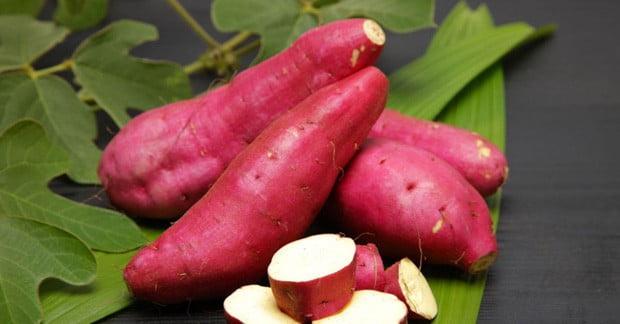 thực phẩm tốt nhất giúp cơ thể khỏe đẹp khoai lang