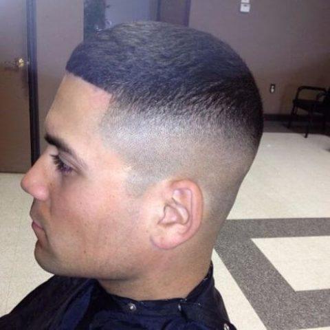 Đầu cua đẹp kiểu Skin Fade Buzz Cuts