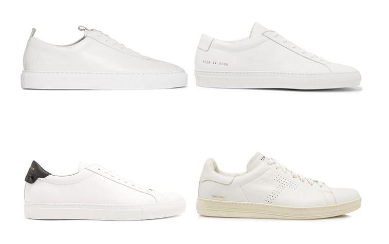 4 đôi giày đàn ông phải có sneaker trắng menback