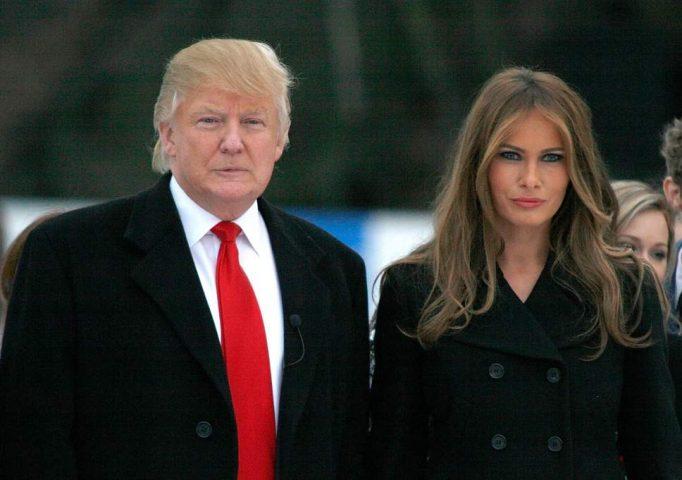 Donal Trump và vợ