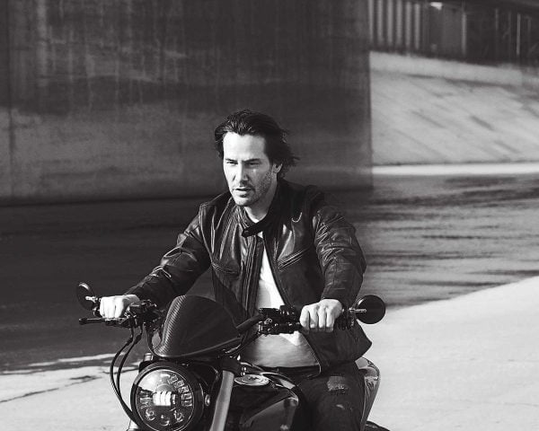 Keanu Reeves riding-main