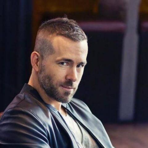 Kiểu đầu cua đẹp của Ryan Reynolds