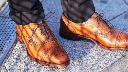 cách chọn giày tây cho nam giới menback