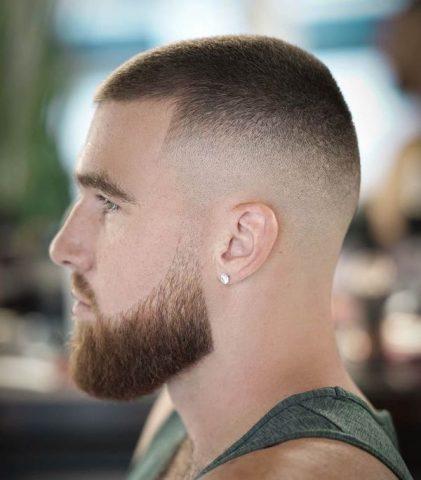kiểu tóc nam giả cua buzz cut