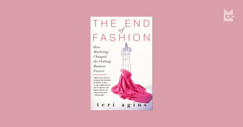 sách cái chết của thời trang