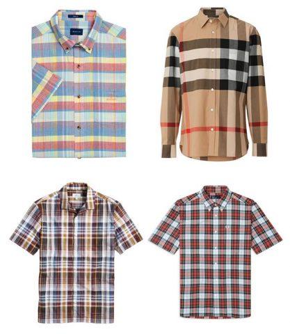 Áo sơ mi kẻ ô vuông cho nam giới (Check Shirts)