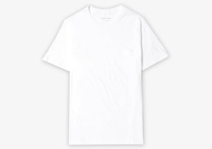 áo phông trắng nam