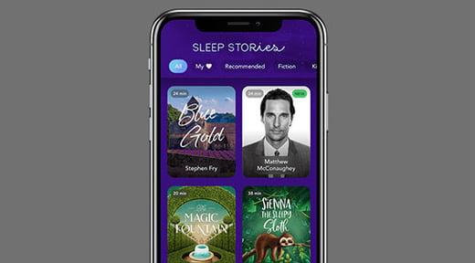 ứng dụng giúp dễ ngủ hơn