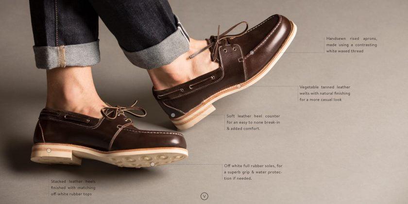 giày công sở boat shoes