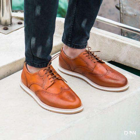 giày monza derby cho nam giới công sở