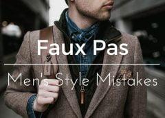 3 lỗi thời trang cơ bản 90% đàn ông thường mắc phải