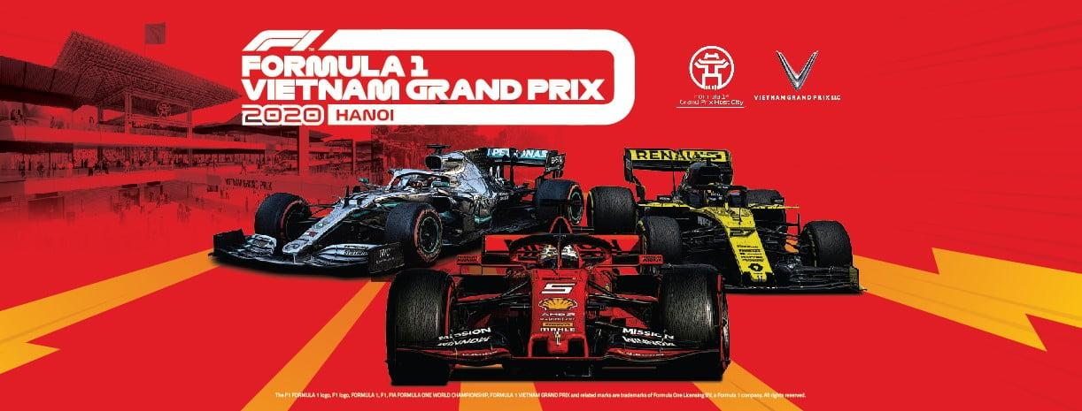 Mua vé xem F1 Vietnam Grand Prix 2020 ở đâu