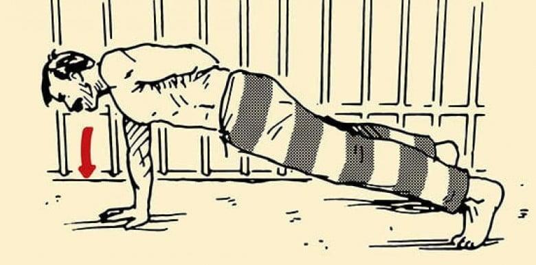 Những bài tập bodyweight tại nhà hiệu quả theo phong cách của tù nhân