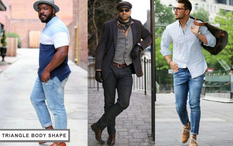 quần áo phù hợp với body hình tam giác