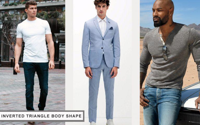 tư vấn lựa chọn quần áo cho nam giới có body hình tam giác ngược
