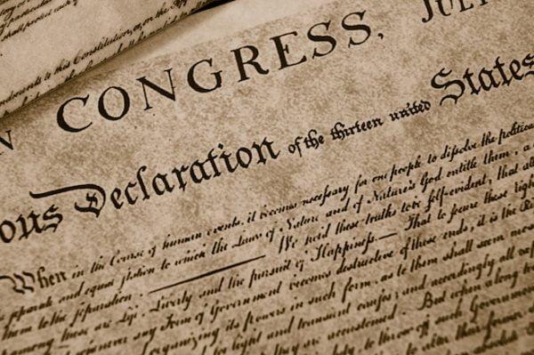 tuyên ngôn độc lập mỹ