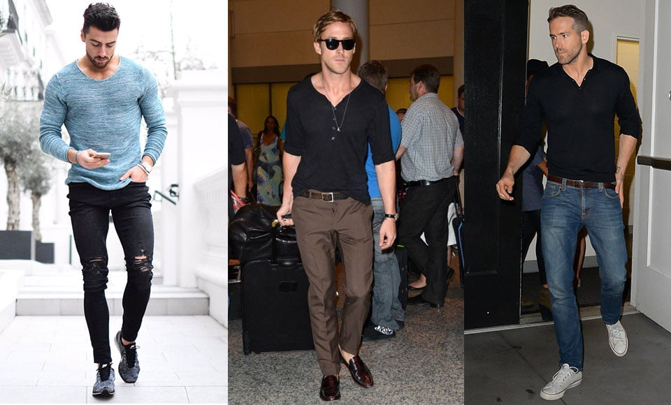 Áo thun nam dài tay Long Sleeve T-shirts