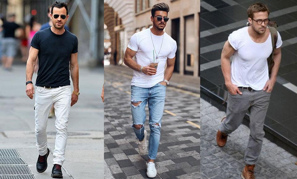 Áo thun nam trơn Plain T-shirts