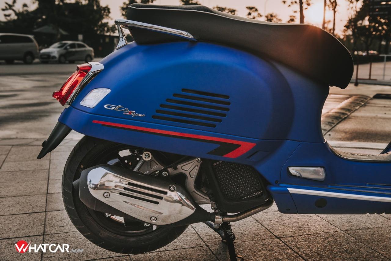 Đánh giá động cơ i-get của Vespa GTS150 Sport