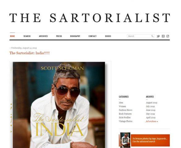 Blog thời trang nam The Sartorialist của Scott Schuman