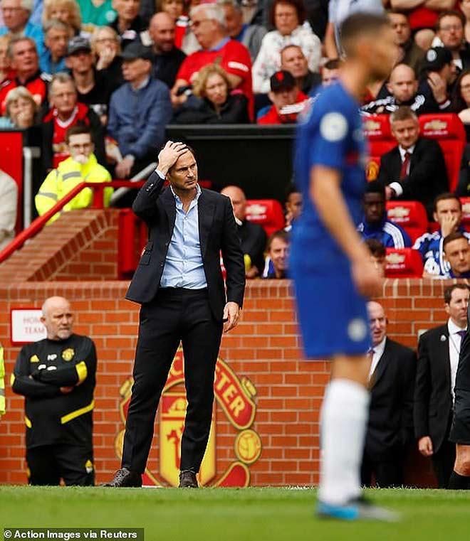 Chiến thuật bóng đá Vì sao Chelsea sụp đổ trước MU