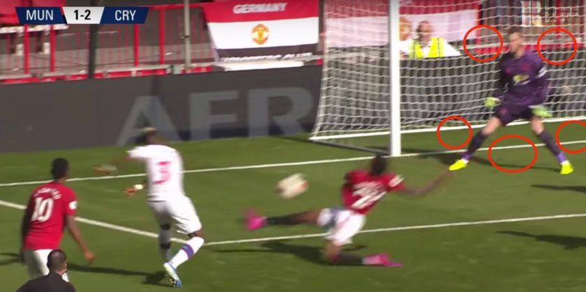 David De Gea và những pha cản phá bóng góc gần (2)