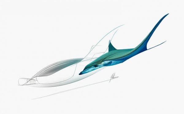 Lilium Jet công bố thiết kế máy bay mới lấy cảm hứng từ loài cá đuối