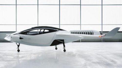 Lilium Jet máy bay lấy cảm hứng từ loài cá đuối